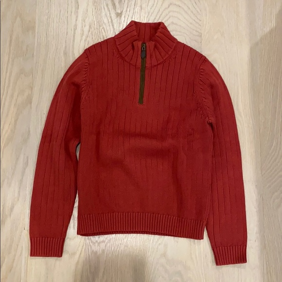 Brooks brother's boys medium red pullover sweater